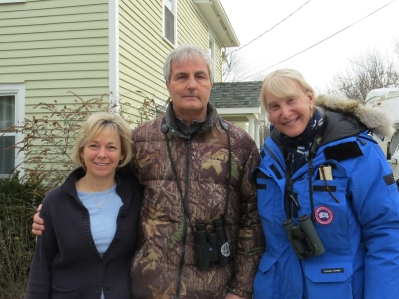 Linda and Pete Dunne and Jamie Koufman 2-8-15